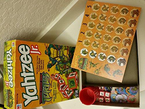 Yahtzee Jr. Teenage Mutant Ninja Turtles Edition (Ninja Turtle Barbie compare prices)