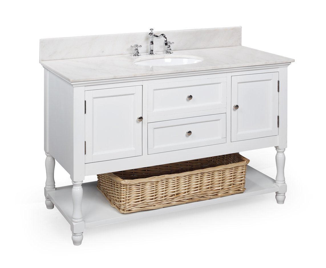 Pottery Barn Look-Alike Single Sink Bathroom Vanities