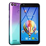 2019 New -Unlocked Cell Phone, 5.5''Ultrathin Android 6.0 Octa-Core 512MB+4G GSM WiFi Touch Screen Smartphone Mobile Phone (Purple) (Color: Purple)