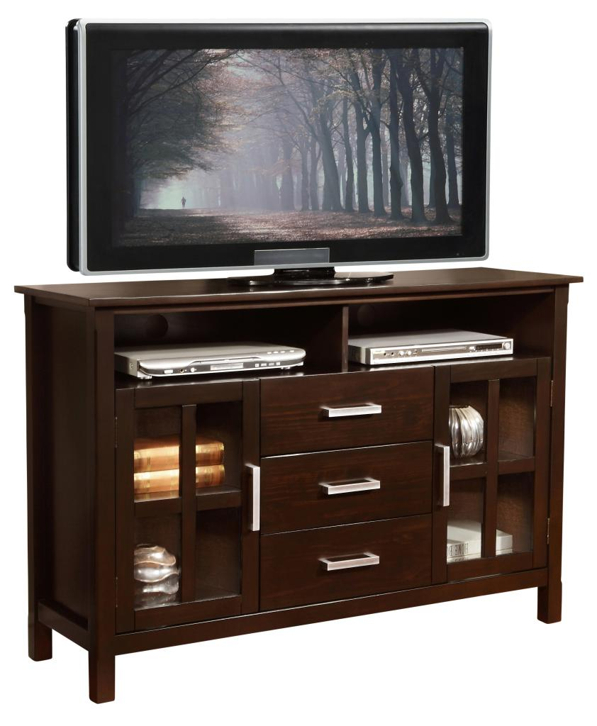Simpli Home Kitchener Tall Tv Stand 53 W X