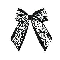 Animal Print Hair Bow