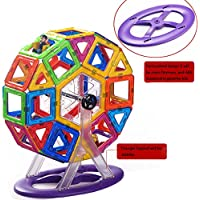 MAGDISGNER Magnetic Building Block Magnetic Toys, 46 Piece Starter Inspire Kit, Preschool Skills Educational Game...