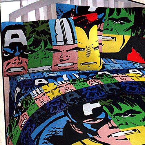 Good  Comics Classic Avengers pc Twin Bedding Set