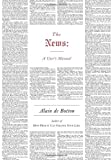 The News: A User\'s Manual by Alain De Botton