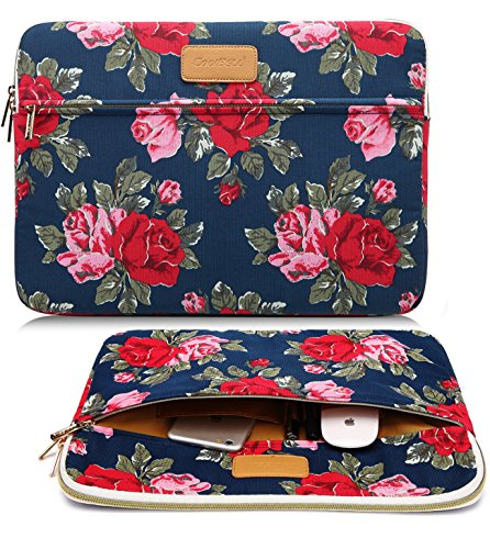 CoolBell(TM)13.3 Inch Laptop Sleeve Case Cover With Peony Flower Pattern Ultrabook Sleeve Bag For Macbook Pro/Macbook Air/Acer/Asus/Dell/Lenovo