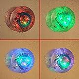 [Nouvelle version] VicTsing Ampoules Etanches LED Lumière Waterproof Avec 6 Couleurs Changeantes Bath Tub Time Light Show Parti dans le bain LED Vu à la télé Assurez Bath Fun Time de votre Bébés Enfants