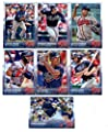 2015 Topps Baseball Cards Atlanta Braves Team Set (Series 1- 11 Cards) Including Julio Teheran, Evan Gattis Team Card, Justin Upton, Freddie Freeman, Jason Heyward, B.J. Upton, Tommy La Stella, Mike Minor, James Russell, Chris Johnson