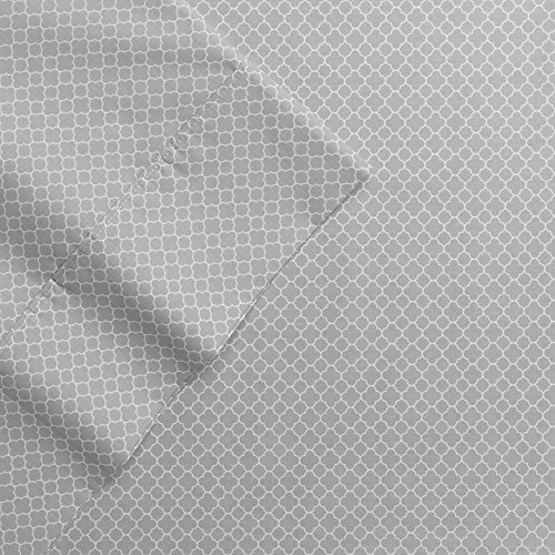 the-big-one-percale-sheet-set-king-gray-trellis-275-thread-count-4pc-set-17-pockets-pima-cotton-blen