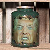 "Donald Trump- Presidential Candidate Head in Jar - ""Hell Toupee"""