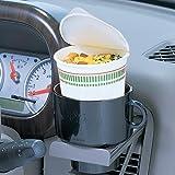 カーメイト(CARMATE) 車内インテリア雑貨 「フライドポテト・カップ麺がおける」 カップ型収納ポケット ブラック DZ59