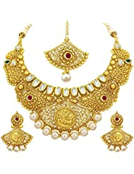 Sukkhi Luxurious Gold Plated Kundan Necklace Set For Women