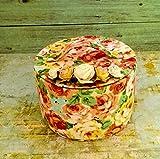 Handmade Fabric Box Storage Ideas Organizer Bright Cosmetic Bag