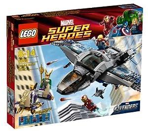 LEGO Super Heroes - El combate aéreo en Quinjet - 6869