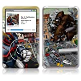 GelaSkins, Protective Cover with Protective Display Film, War of the Monsters, for Apple iPod classic 80/120/160 GB