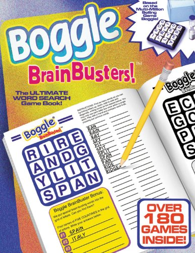 Boggle Brain Busters!: The Ultimate Word-Search Puzzle Book