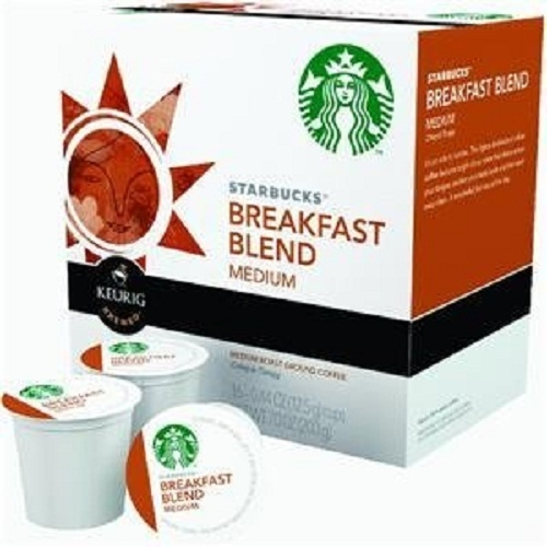 Starbucks Breakfast Blend, K-Cup Portion Pack for Keurig K-Cup Brewers, 16-count (Pack of 10) (K Cups Starbucks Breakfast Blend compare prices)