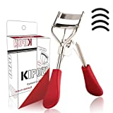 KIPOZI Eyelash Curler, Professional Lash Curler with 4 Refills Pads, Long Lasting and Natural Curling, No Pinching, Fits All Eye Shapes Get Gorgeous Eyelashes in Seconds (Color: Eyelash Curler)