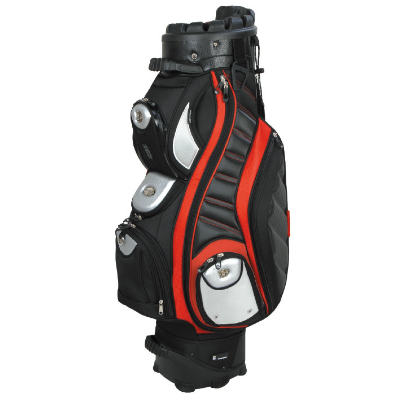 Bennington 2014 Quiet Organizer 9 Cart Bag Red QO-9