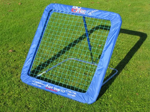 RAPID FIRE TYPHOON Cricket Catch Rebound Net (1.05m x 1.05m) - Amazing training aid For all ages  &  levels, recommended  &  used by Derbyshire County Cricket Board!