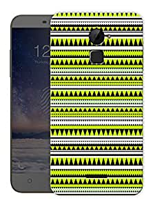 "Green Aztec Ethnic Print Printed Designer Mobile Back Cover For ""Coolpad Note 3 Lite"" By Humor Gang (3D, Matte Finish, Premium Quality, Protective Snap On Slim Hard Phone Case, Multi Color)"