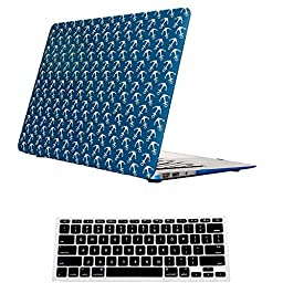 Macbook Pro 13 Case,ACCUCASE(TM) 13-inch macbook pro 13 case,Ultra Slim Rubberized Hard Case Light Weight Matte Cover for MacBook Pro 13-inch (A1278) Sailor Blue