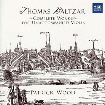 Complete Works for Unaccompanied Violin
