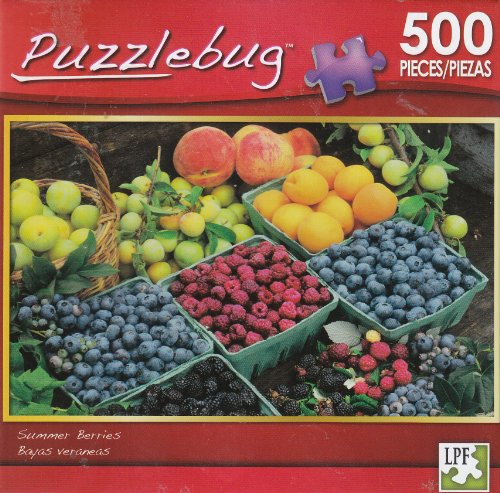 Puzzlebug 500 - Summer Berries - 1