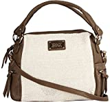 Louise & Harris Handbag (Cream & Brown)