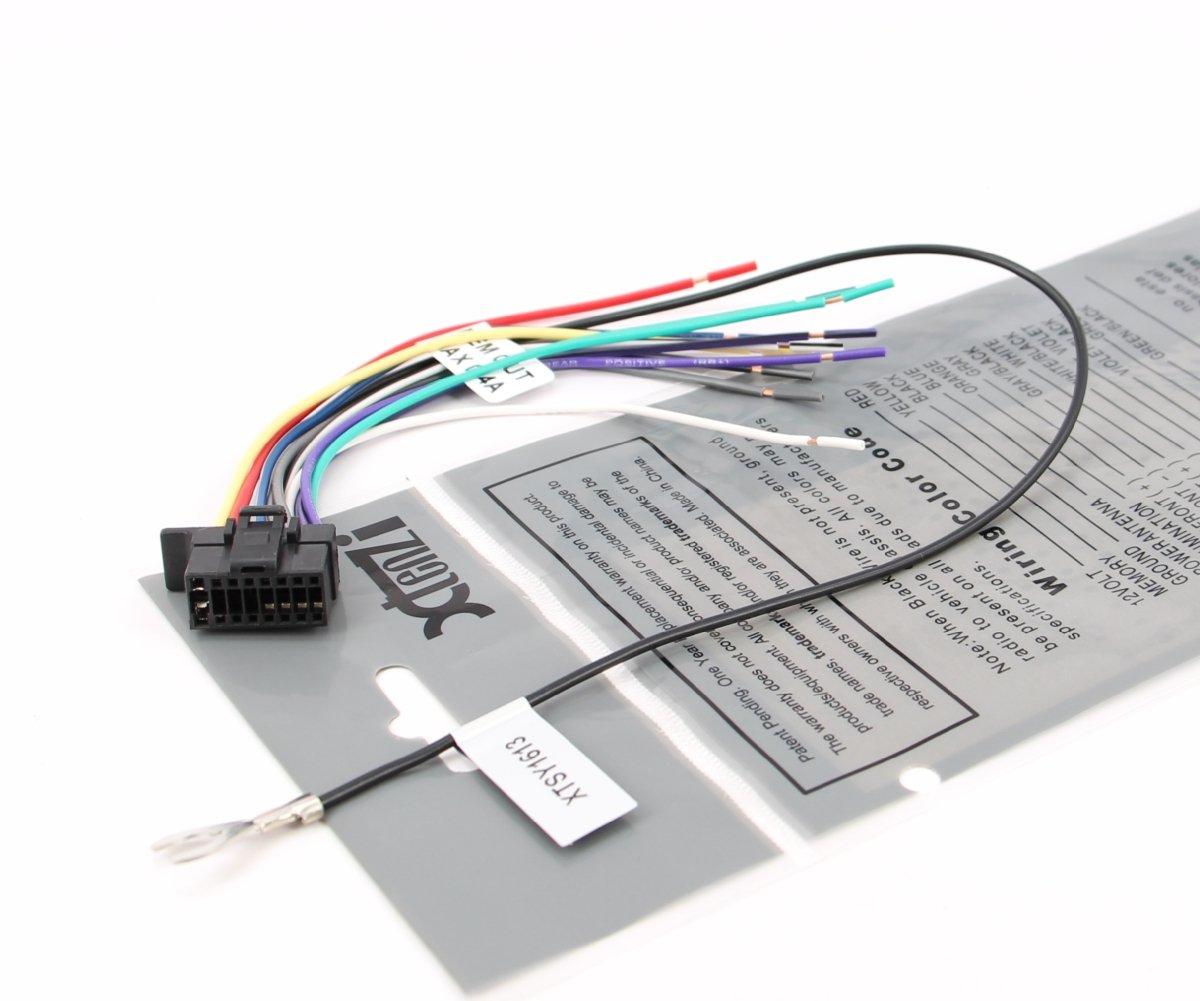 xtenzi sony radio wire harness wx gt80ui cdx gt575up mex bt4100p cdx gs500r ebay