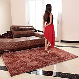 Living Room Rugs Amazon Of Ustide Super Soft High Pile Area Rug For