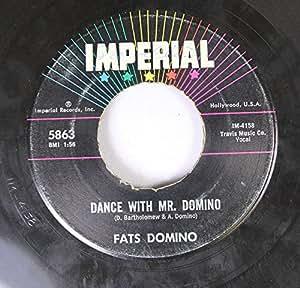 Fats Domino Fats Domino 45 Rpm Dance With Mr Domino