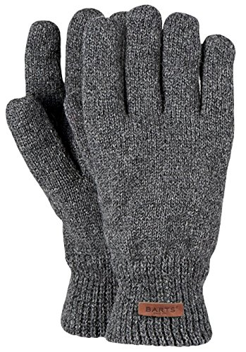 Barts - Haakon Glove, Guanti Uomo, Grigio (Grau), Taglia unica (Taglia Produttore: One Size)