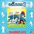 Die Schl�mpfe. Wandkalender 2014
