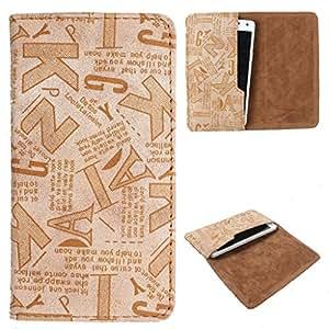 DooDa PU Leather Case Cover For Intex Cloud N