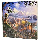 ''Pinocchio Wishes Upon A Star'' Gallery Wrapped Canvas by Thomas Kinkade