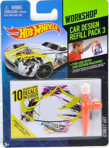 Hot Wheels Workshop Car Design Refill Pack 3 - 1