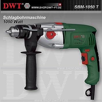 DWT Schlagbohrmaschine Bohrmaschine mit Drehzahlregler 600 W    SBM-600