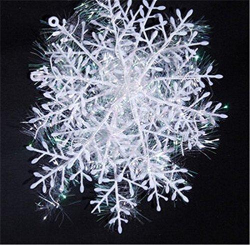 Qiyun 3 Stück Snow Flakes Schneeflocken