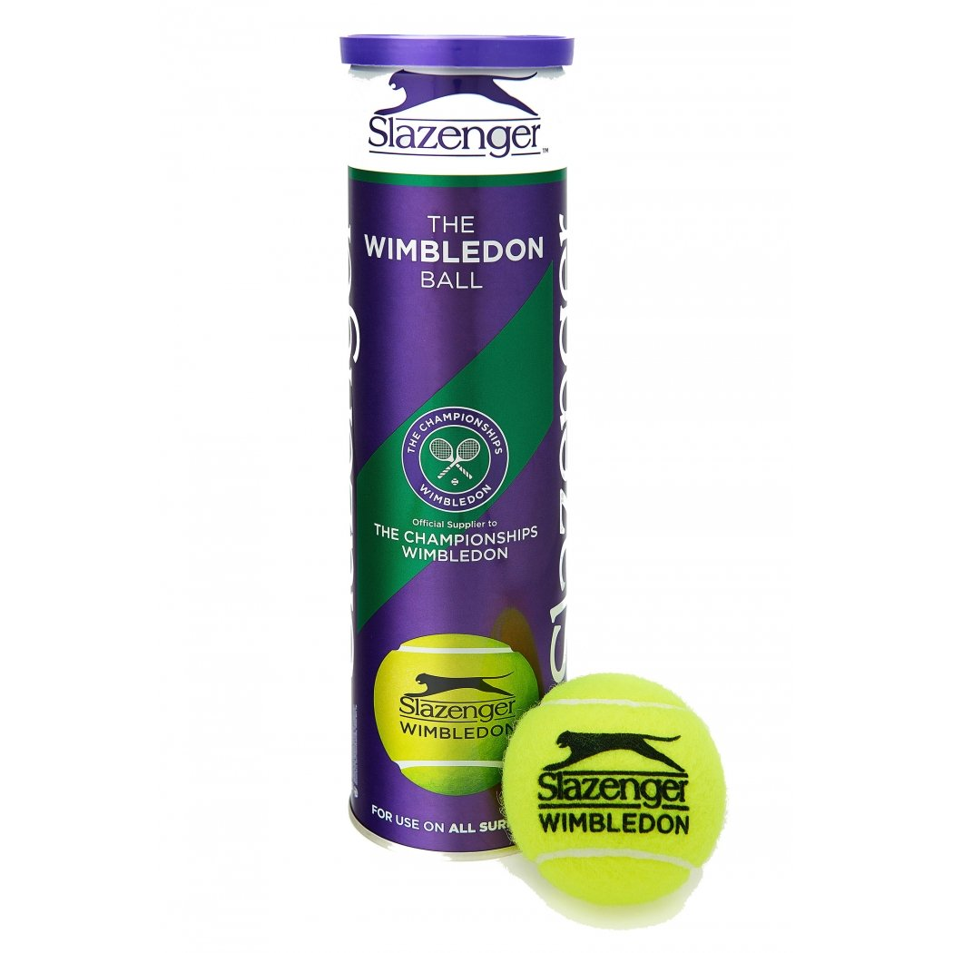 SLAZENGER 2014 Wimbledon Tennis Ball (3 Ball Can)