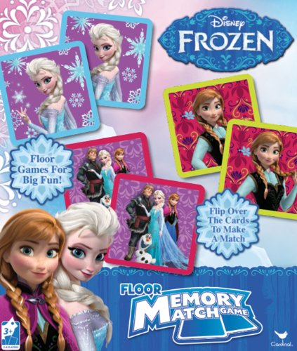 Disney Frozen Floor Memory Match, 54 Pieces