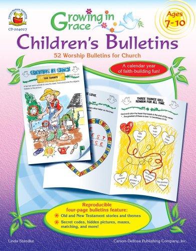 Growing in Grace Children PDF