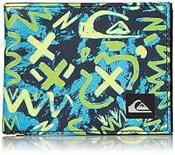 Quiksilver Men's Boardshort Wallet, WL Cave Rave Neon Green, Medium