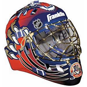 Franklin Sports Florida Panthers NHL Team SX Comp GFM 100 Goalie Mask by Franklin