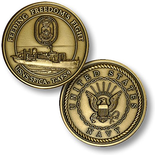 USNS Spica (T-AFS-9) Challenge Coin