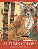 Autumn Colors: Adult Coloring Book
