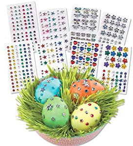 Rhinestone Egg-Decorating Kit with Peel-and-Stick Gems, Primary from Magic Cabin®