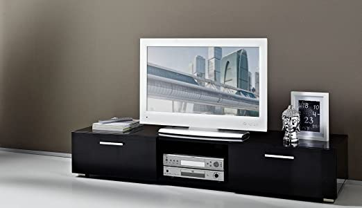 Germania 3300-83 TV-mueble 3300 (lacado brillante) negro