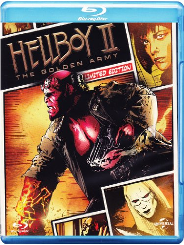 Hellboy - The golden army(+DVD reel heroes) [Blu-ray] [IT Import]