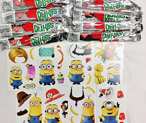 Minions Fruit roll up with Bonus Stickers (8 count) (Minions Fruit compare prices)