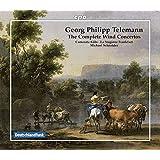 ゲオルク・フィリップ・テレマン:管楽のための協奏曲全集[8CDs]
